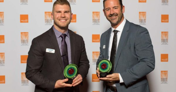Sales Team of the Year - Erik Granquist & Paul Foster, Lennar